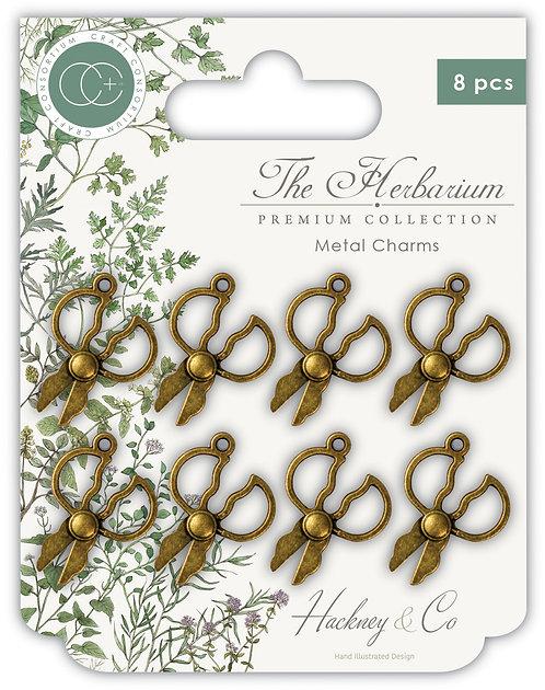 The Herbarium - Herb Scissors Metal Charms