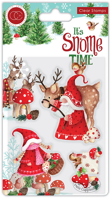 It's Snome Time - Clear Stamp Set - Mr & Mrs Snome