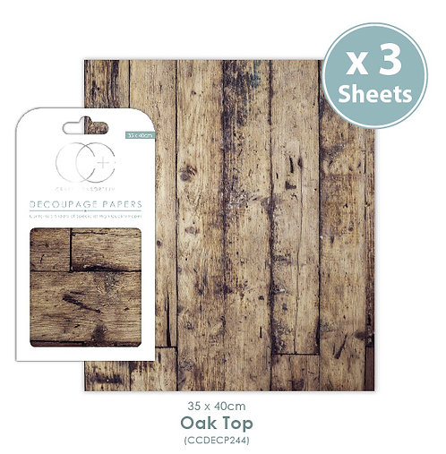 Oak Top - Decoupage Papers Set