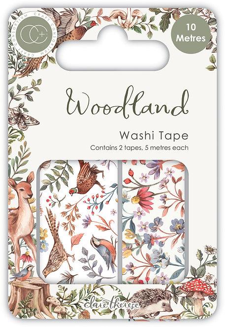 Woodland - Premium Washi Tape