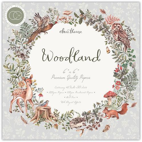 """Woodland - 6""""x6"""" Premium Paper Pad"""