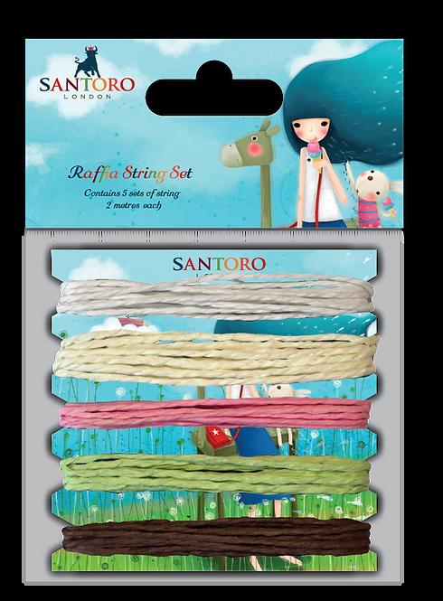 Santoro - Kori Kumi Raffia Cord Set