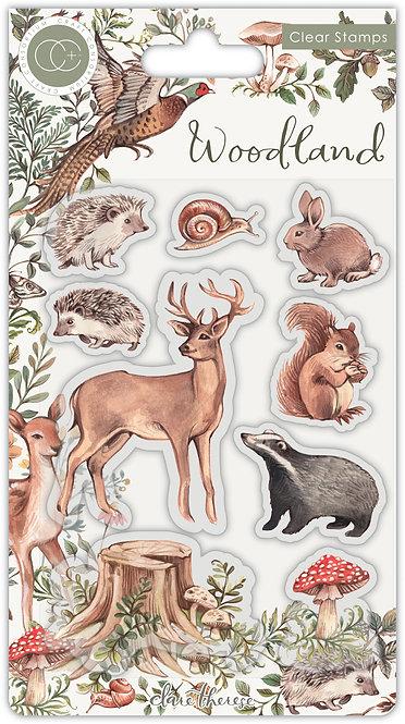 Woodland - Premium Stamp Set - Animals