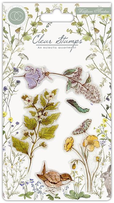 Wildflower Meadow - Wild Flowers - Clear Stamp Set