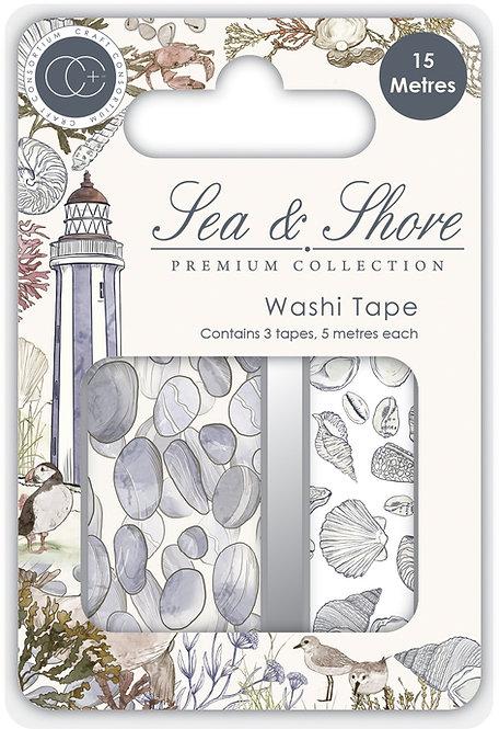 Sea & Shore - Premium Washi Tape set