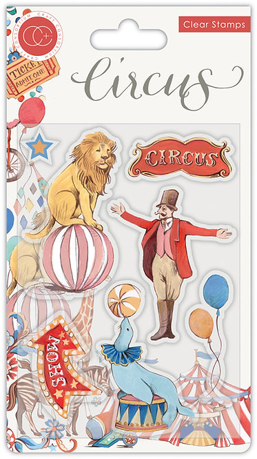Circus - Stamp Set - The Circus