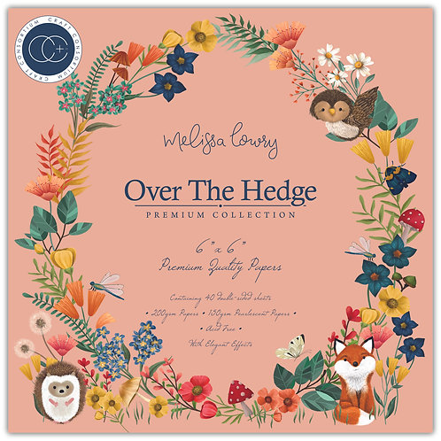 "Over the Hedge 6""x6"" Premium Paper Pad"