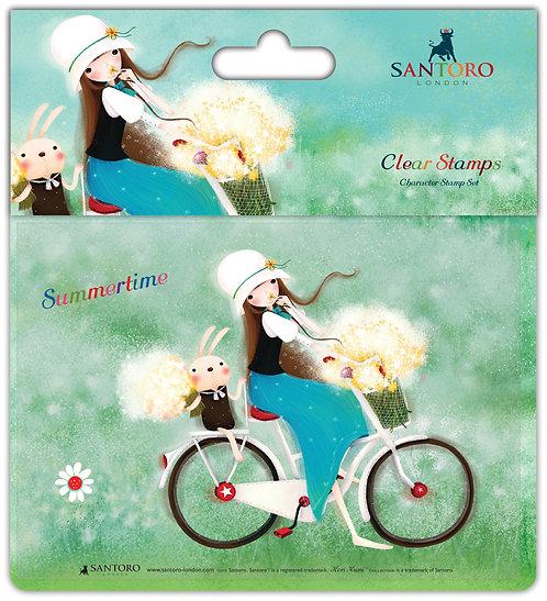 Santoro - Kori Kumi Clear Stamp Set - Summertime