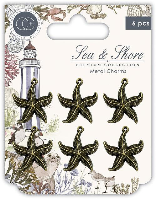 Sea & Shore - Star Fish - Metal Charms