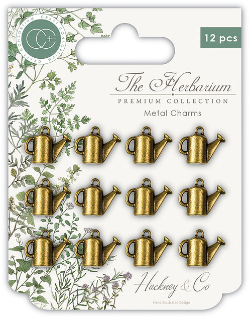 The Herbarium - Watering Can Metal Charms