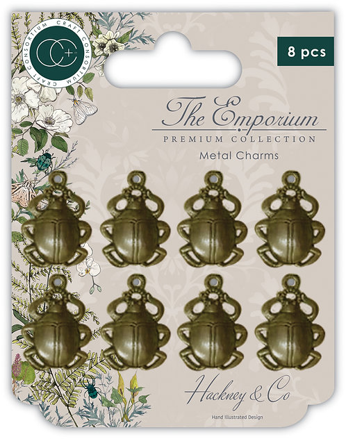 The Emporium - Metal Beetle Charms