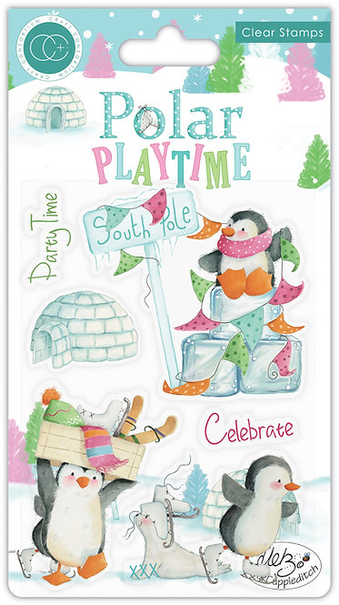 Polar Playtime - Polar Playtime - Stamp Set