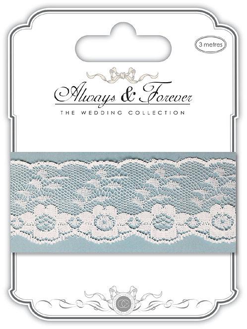 Always & Forever - Elegant Lace Ribbon - Flower Chain