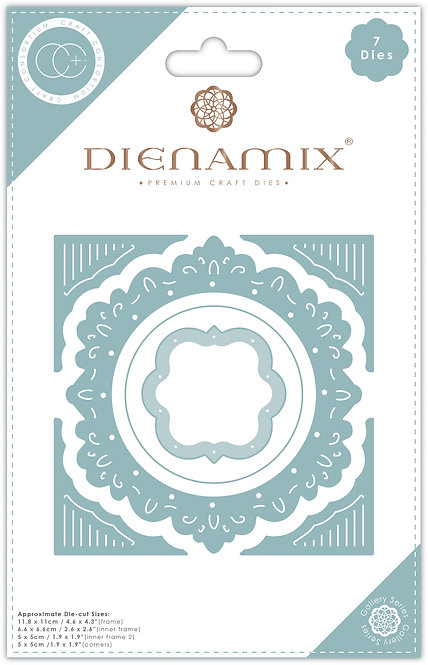 Dienamix - Ornate Circle - Cutting Die