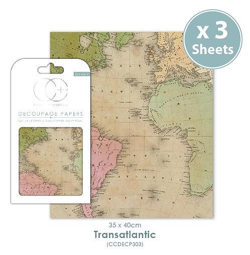 Transatlantic - Decoupage Papers Set