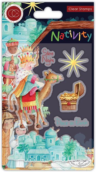 Nativity - Stamp Set - Bethlehem