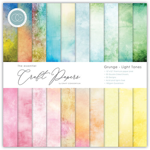 The Essential Craft Papers - Grunge - Light Tones