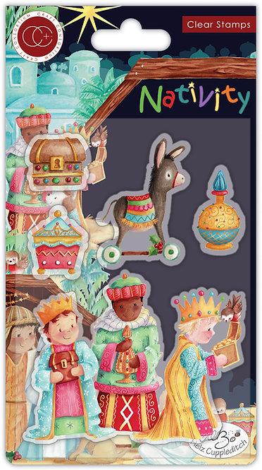 Nativity - Stamp Set - Three Wise Men
