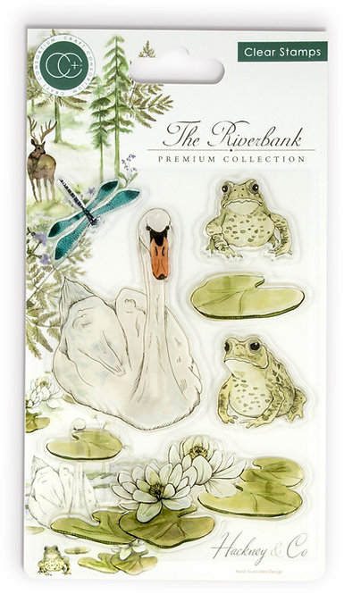 The Riverbank - Clear Stamp Set