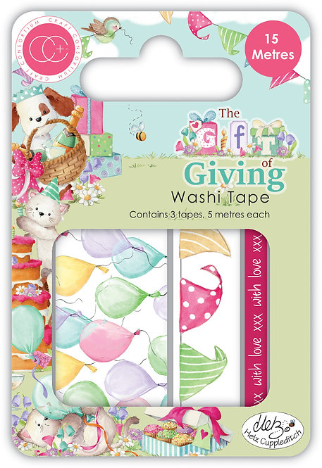 The Gift of Giving - Washi Tape