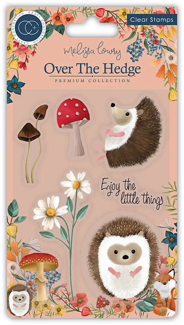 Over the Hedge - Stamp Set - Harry the Hedgehog