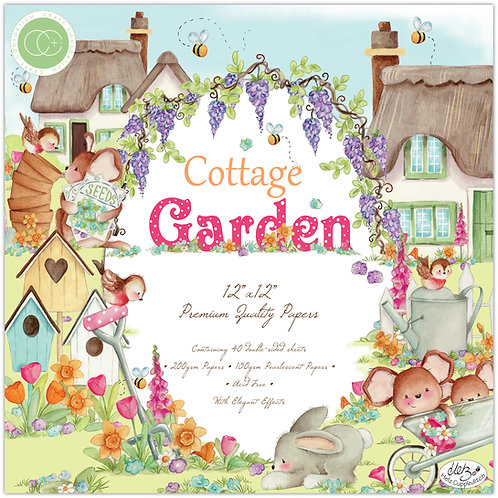 Cottage Garden - Premium Paper Pad