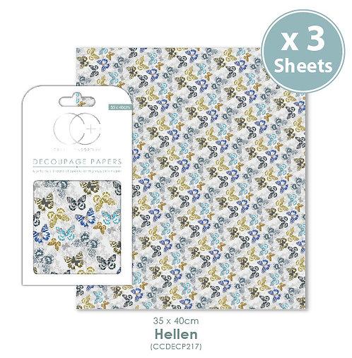 Hellen - Decoupage Papers Set