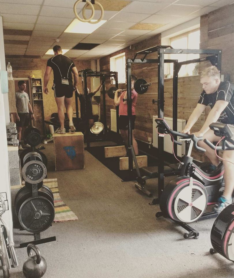 Primal fitness weights room 3