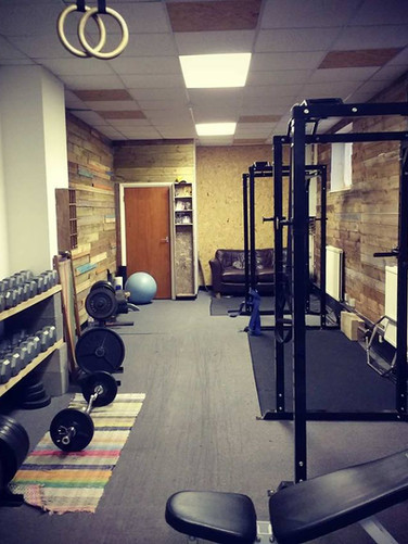 Primal fitness weights room 4