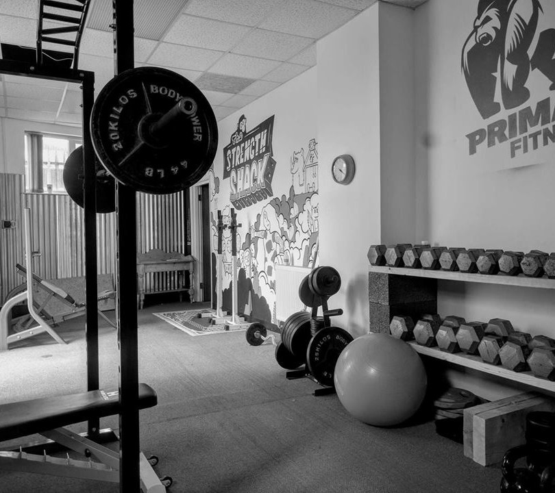 Primal fitness weights room 2