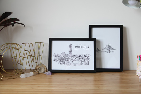 Manchester-Skyline-Wallart-Print