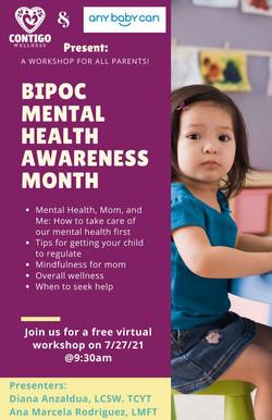 BIPOC Mental  Health Awareness Month