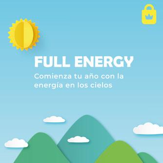 Full Energy: Comienza tu año con la energía en los cielos