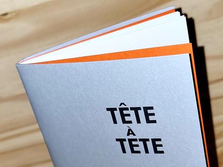Edition du recueil Tête à Tête écrit avec les jeunes incarcérés dans la Maison d'Arrêt de Dijon