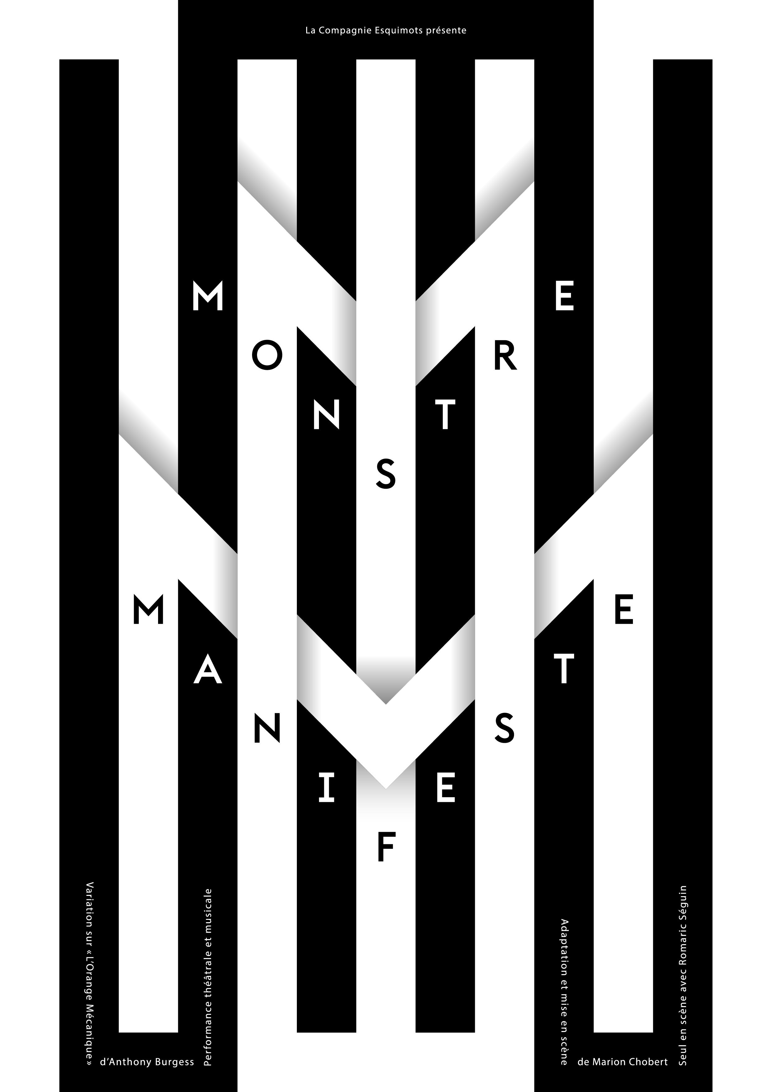 Affiche Monstre Manifeste