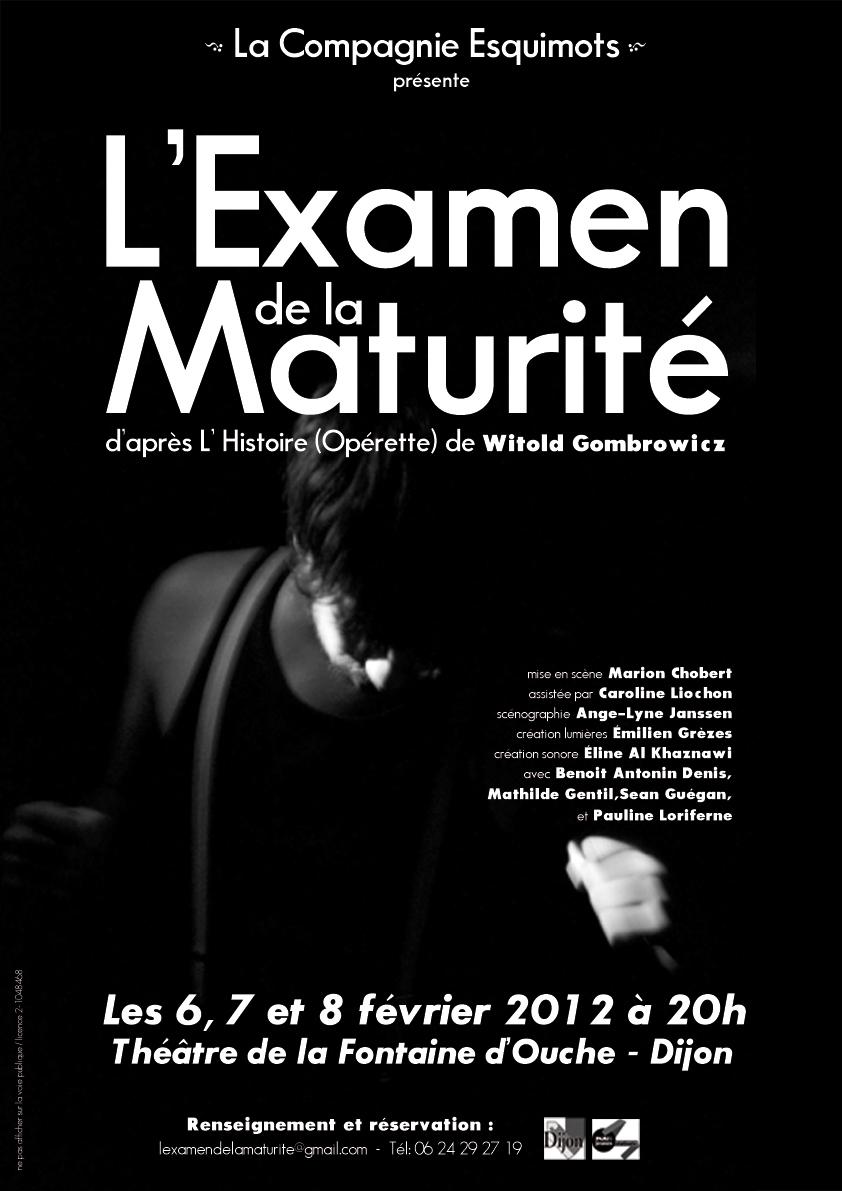 affiche_L'Examen_de_la_Maturité