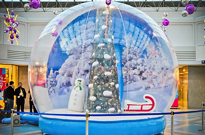 Mega 16ft Giant Snow Globe for Hire