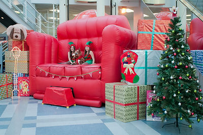 Giant Santas Chair for Hire