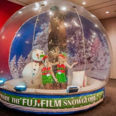 Maxi 10 ft Giant Snow Globe for Hire