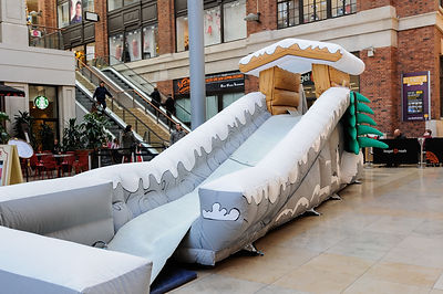 Giant Inflatable Toboggan for Hire