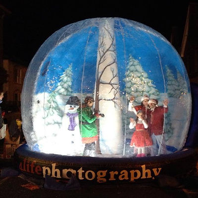 Super 13 ft Giant Snow Globe for Hire