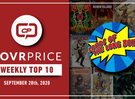 ICYMI: CovrPrice Top 10 Hot Comic Books Sold - Week Ending October 4th