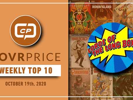 Lords of The Long Box CovrPrice Top 10 Hot Comic Books Sold - Week Ending October 18th