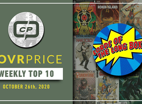 Lords of The Long Box CovrPrice Top 10 Hot Comic Books Sold - Week Ending October 25th