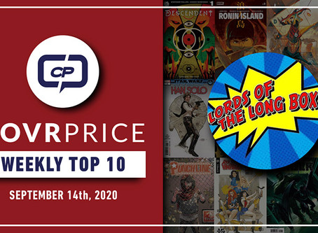 Live Stream: CovrPrice Top 10 Hot Comic Books Sold - Week Ending September 14th