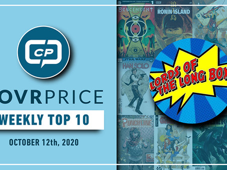 CovrPrice Top 10 Hot Comic Books Sold - Week Ending October 12th - LIVE 6PM PST