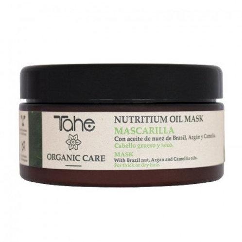 Tahe Organic Care Nutrium Oil Mask  voor dik haar