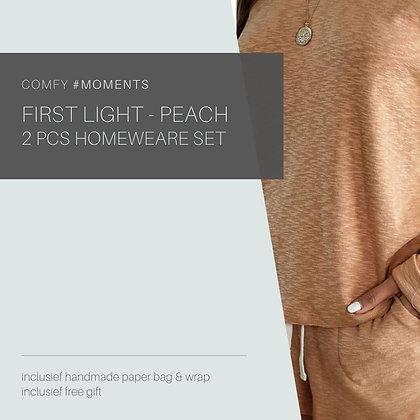 First Light - Peach