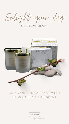 Candle Giftset - Enlight you day
