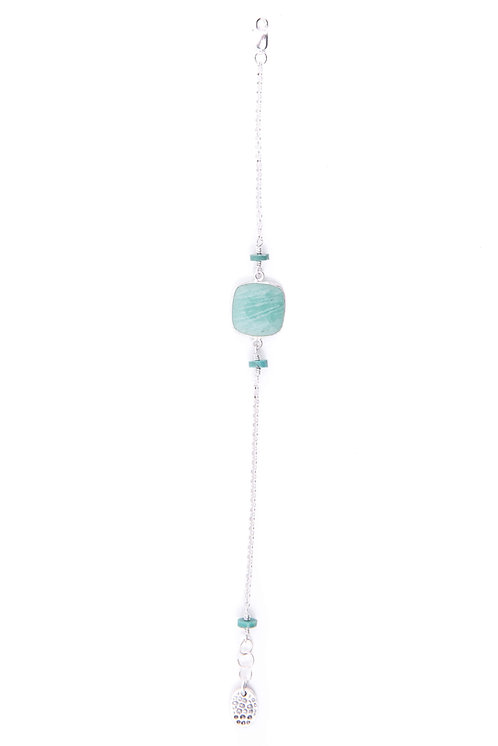 amazonite and turquoise bracelet